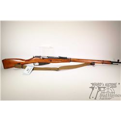 Non-Restricted rifle Izhevsk (Soviet Union) model Mosin Nagant M91/30, 7.62 X 54R five shot bolt act