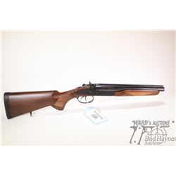 "Non-Restricted shotgun Norinco model JW-2000, 12 GA 3"" two shot hinge break, w/ bbl length 12"" [Blue"