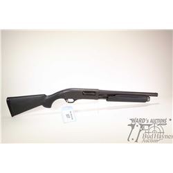 "Non-Restricted shotgun Norinco model HP9, 12GA  2 3/4"" & 3"" pump action, w/ bbl length 14"" [Black Pa"