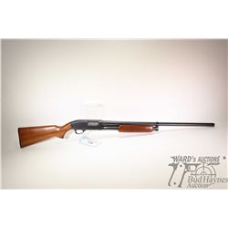 "Non-Restricted shotgun J.C Higgins model 20, 12GA  2 3/4"" pump action, w/ bbl length 28"" [Blued barr"