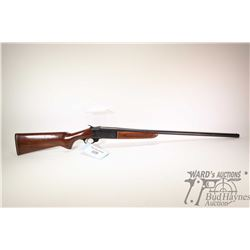 "Non-Restricted shotgun C-I-L model 402, 20GA 2 3/4"" single shot hinge break, w/ bbl length 28"" [Blue"
