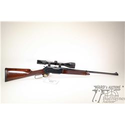 "Non-Restricted rifle Browning (made in Japan) model 81BLR, .22-250 lever action, w/ bbl length 20"" ["