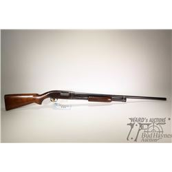 "Non-Restricted shotgun Winchester model 12, 12GA  2 3/4"" pump action, w/ bbl length 30"" [Blued barre"