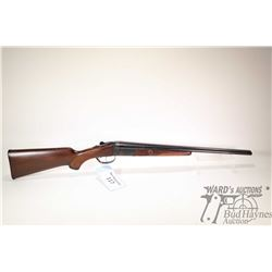 "Non-Restricted shotgun Gaucha-IGA model Coachgun, .410GA  3"" two shot hinge break, w/ bbl length 20"""