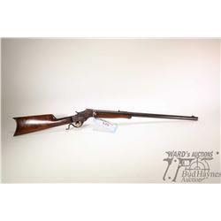 Non-Restricted rifle J. Stevens model Falling Block, 22LR single shot falling block, w/ bbl length 2