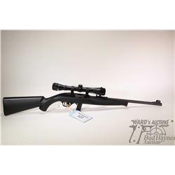 "Non-Restricted rifle Mossberg model 702 Plinkster, 22LR ten shots semi automatic, w/ bbl length 18"""