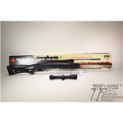 No Pal Req. air rifle Ruger model Black Max, .177Cal (4.5mm) 490 FPS single shot hinge break, w/ bbl