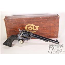 Restricted handgun Colt model SAA Gen. 3, .45 LC six shot single action revolver, w/ bbl length 190m