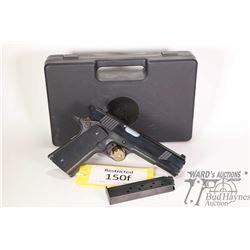 Restricted handgun Norinco model NP29, 9mm eight shot semi automatic, w/ bbl length 127mm [Blued sty