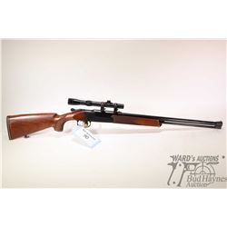 Non-Restricted rifle/shotgun Voere model Combination Gun, 20Ga / .22 magnum two shot hinge break, w/