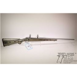"Non-Restricted rifle Ruger model M77 MK II, 270 Win bolt action, w/ bbl length 22"" [Stainless steel"