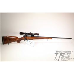 "Non-Restricted rifle Remington model 660, 6mm. Rem. bolt action, w/ bbl length 23 1/2"" [Blued barrel"