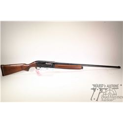 "Non-Restricted shotgun Savage model 775A, 12Ga 2 3/4"" semi automatic, w/ bbl length 30"" [Blued barre"