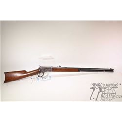 """Non-Restricted rifle Winchester model 1892, .38 WCF lever action, w/ bbl length 24 1/2"""" [Blue round"""