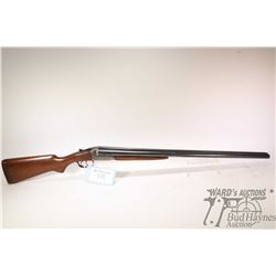 "Non-Restricted shotgun J.C. Higgins model 101.7 (311A), 12 Ga. 2 3/4"" two shot hinge break, w/ bbl l"