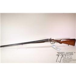 "Non-Restricted shotgun Husqvarna model 51, 16 GA two shots hinge break, w/ bbl length 29 1/2"" [Blued"