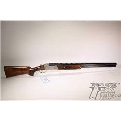"Non-Restricted shotgun Krieghoff model K-80, 12Ga 3"" two shot hinge break, w/ bbl length 28"" [Blued"