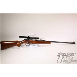 "Non-Restricted rifle Anschuetz 22LR five shot bolt action, w/ bbl length 21 1/2"" [Blued barrel. Fixe"