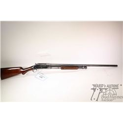 """Non-Restricted shotgun Winchester model 1897, 12Ga pump action, w/ bbl length 30"""" [Blued fixed full"""
