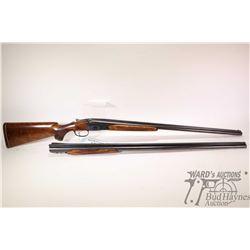 "Non-Restricted shotgun Parker Bros (circa 1922) model SXS, 20Ga 2 1/2"" two shots hinge break, w/ bbl"