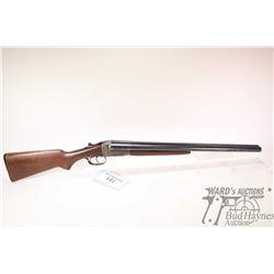 """Non-Restricted shotgun Stevens model 311, 12Ga 2 3/4"""" two shot hinge break, w/ bbl length 22"""" [Blued"""