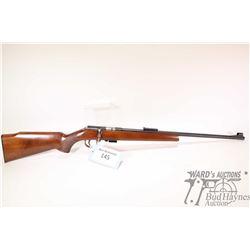 """Non-Restricted rifle Anschuetz model 1400/40, 22LR five shot bolt action, w/ bbl length 21 3/4"""" [Blu"""