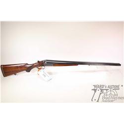 "Non-Restricted shotgun GEBR. MERKEL SUHL model SXS Hammerless, 12Ga 2 3/4"" two shot hinge break, w/"