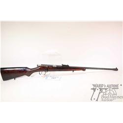 "Non-Restricted rifle Tula (USSR) model T03-16, 22LR Single Shot bolt action, w/ bbl length 21"" [Blue"