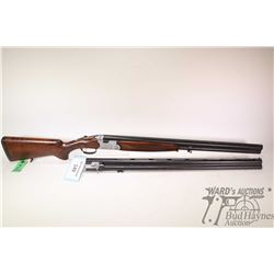 "Non-Restricted shotgun Beretta model S687, 12Ga 3"" two shots hinge break, w/ bbl length 28""  & 29 1/"