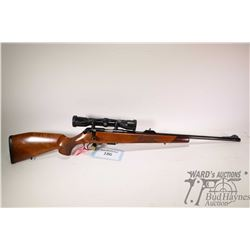 "Non-Restricted rifle Mauser model 201, 22 WMR bolt action, w/ bbl length 22"" [Blued barrel and recei"