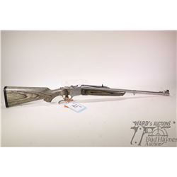 "Non-Restricted rifle Ruger model No. 1, .45-70 Govt. Single Shot falling block, w/ bbl length 22"" [S"
