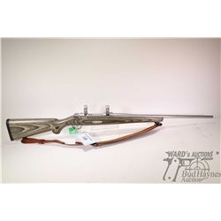 "Non-Restricted rifle Ruger model M77 MK II, 30-06 Sprg bolt action, w/ bbl length 22"" [Stainless bar"