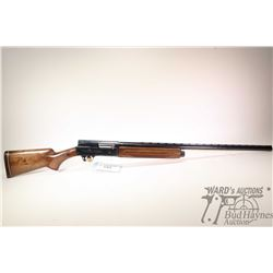 "Non-Restricted shotgun Browning model Auto-5, 12Ga 3"" semi automatic, w/ bbl length 30"" [Blued ribbe"