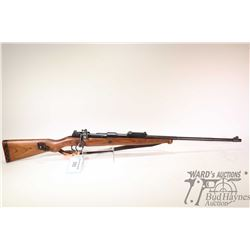 "Non-Restricted rifle Mauser model Mod. 98, 8X57Mauser bolt action, w/ bbl length 24"" [Blued barrel a"