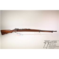 "Non-Restricted rifle Mauser model 1910, appears to be 7mm bolt action, w/ bbl length 29"" [Blued barr"
