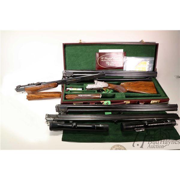Non-Restricted shotgun/rifle Krieghoff model BDB-ULM-Primus, Multi caliber two shot hinge break, w/