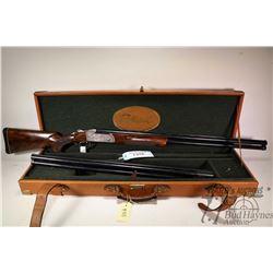 "Non-Restricted shotgun Krieghoff model K80, 12Ga, 3"" two shot hinge break, w/ bbl length 30"" & 32"" ["
