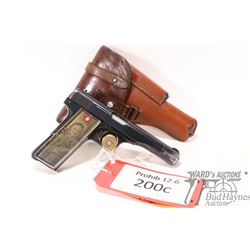 Prohib 12-6 handgun FN Browning model 1910/1922, .32 ACP nine shot semi automatic, w/ bbl length 113