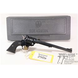 Restricted handgun Ruger model New Model Single-Six, 22 Win. Mag six shot single action revolver, w/