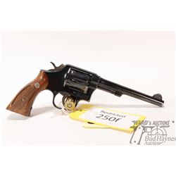 Restricted handgun S&W model 10-7, .38 S&W six shot double action revolver, w/ bbl length 152mm [Blu