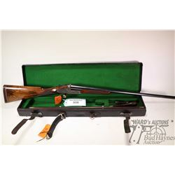 Non-Restricted shotgun Purdey & Sons model Single Barrel, 16Ga Single Shot hinge break, w/ bbl lengt