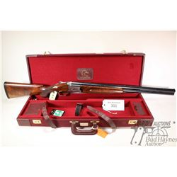 "Non-Restricted shotgun Luigi Franchi model Ducks Unlimited, 12Ga 3"" two shot hinge break, w/ bbl len"