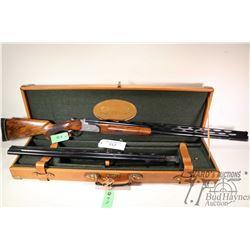 "Non-Restricted shotgun Rottweil model 74 AAT, 12Ga, 2 3/4"" Double And Single hinge break, w/ bbl len"