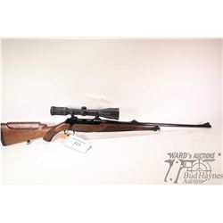 """Non-Restricted rifle Sauer model 202, .243 Winchester bolt action, w/ bbl length 24"""" [Blued barrel a"""