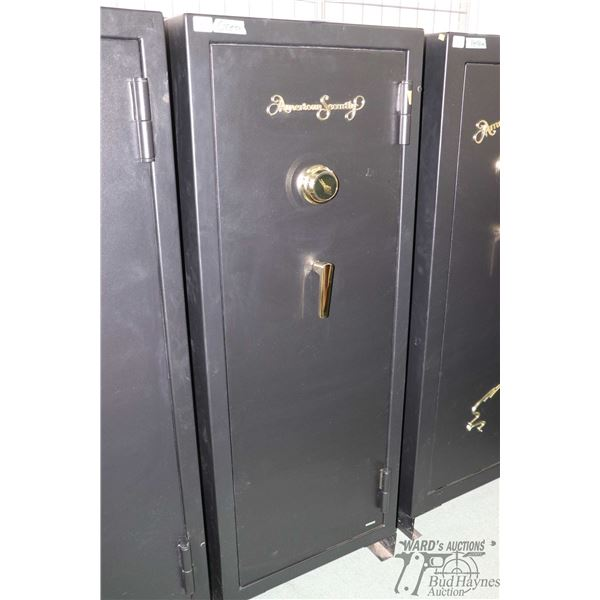 American Security combination vault with convertible configuration of up to 20 rifles, 20 minute fir