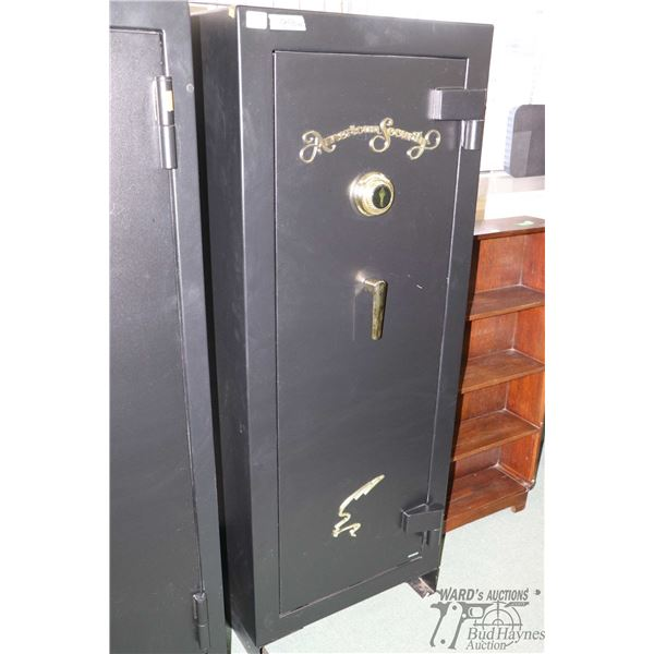 American Security combination vault with convertible configuration of up to 20 rifles, 45 minute fir