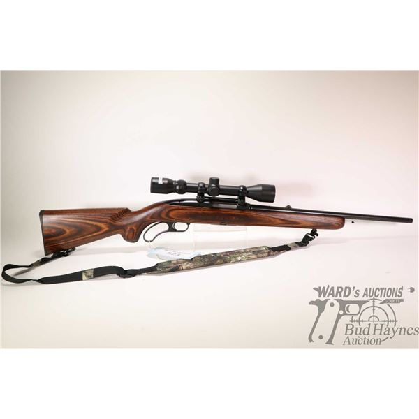 """Non-Restricted rifle Winchester model 88, .308 Win lever action, w/ bbl length 19"""" [Blued barrel and"""