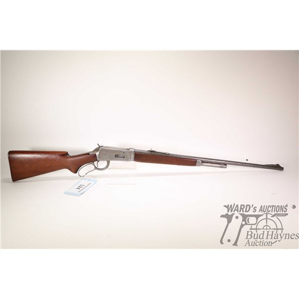 """Non-Restricted rifle Winchester model 64, 30 W.C.F lever action, w/ bbl length 24"""" [Blued barrel and"""