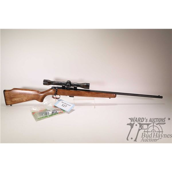 "Non-Restricted rifle Remington model 581-S, 22 S-L-LR bolt action, w/ bbl length 24"" [Blued barrel a"