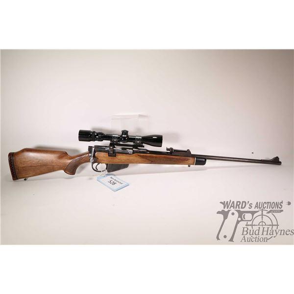 "Non-Restricted rifle Enfield model Sht LE III *, .303 Brit ten shot bolt action, w/ bbl length 23"" ["